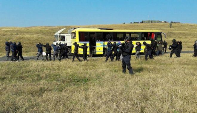 Διασυνοριακή άσκηση με σενάριο λεωφορειοπειρατείας με τη συμμετοχή της ΕΚΑΜ