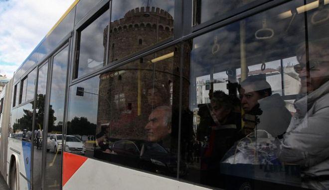 Λεωφορείο στην Θεσσαλονίκη