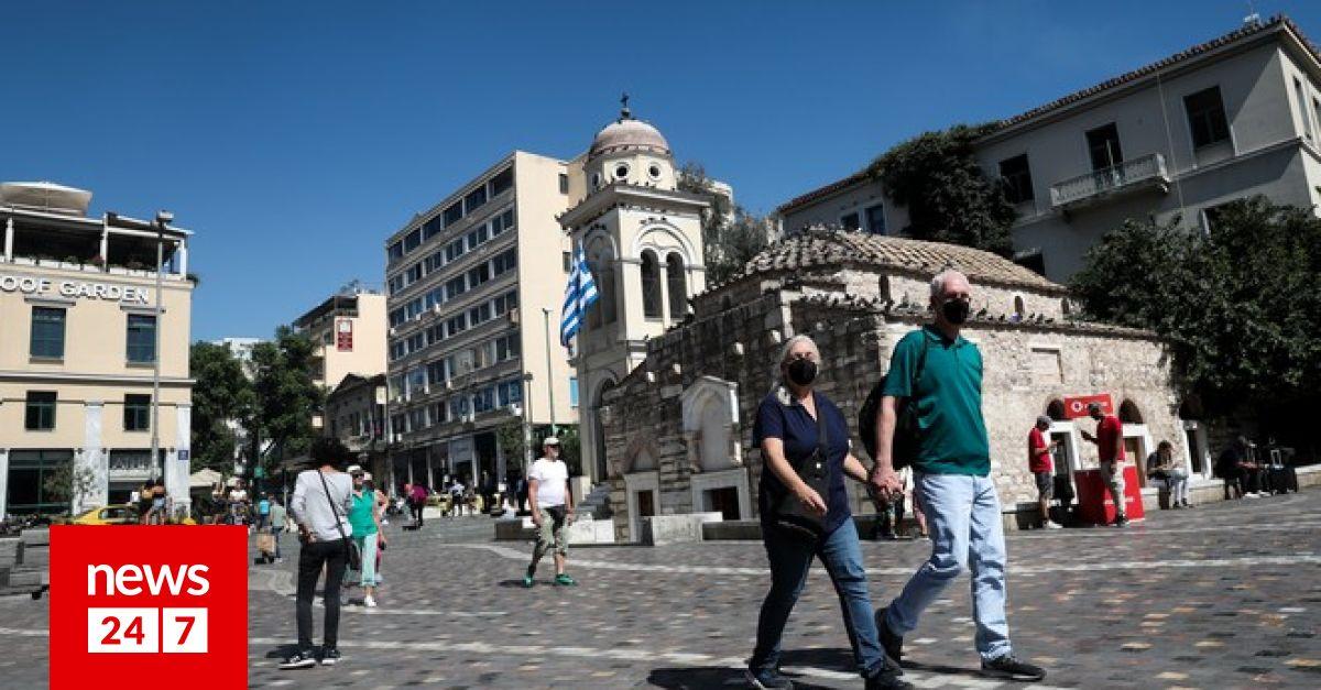 Κορονοϊός: 1853 κρούσματα σήμερα στην Ελλάδα