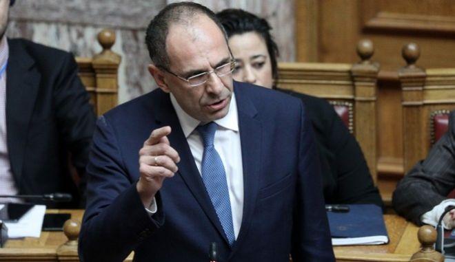Ο υπουργός Επικρατείας Γιώργος Γεραπετρίτης