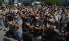 Διαμαρτυρία των εργαζόμενων της Nissan στην Ισπανία
