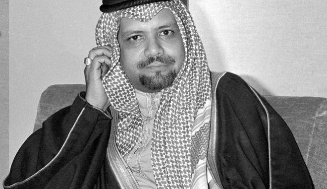 Ο υπουργός Πετρελαίου της Σαουδικής Αραβίας το 1976, Αχμέντ Ζακί Γιαμανί