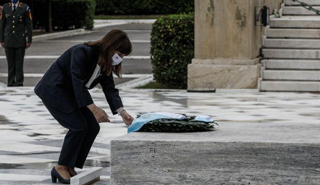 """Σακελλαρόπουλου: """"Σήμερα, ενωνόμαστε με τις αρμενικές κοινότητες της Ελλάδας"""""""