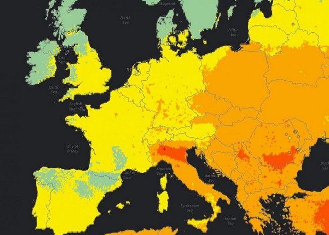 Το 92% του παγκόσμιου πληθυσμού αναπνέει μολυσμένο αέρα