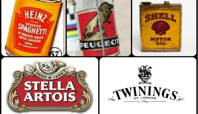 Τα παλαιότερα logos εταιρειών στον κόσμο