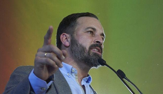 Ο ηγέτης του Vox Σαντιάγο Αμπασκάλ