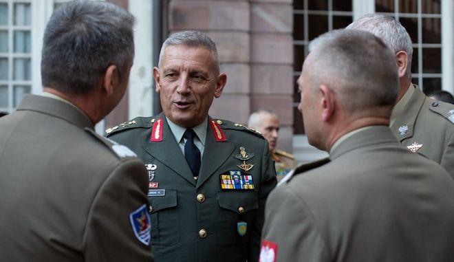 Ο αρχηγός ΓΕΕΘΑ στρατηγός Κωνσταντίνος Φλώρος