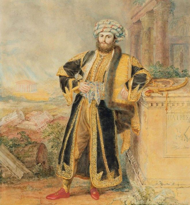 O Aλέξανδρος Μαυροκορδάτος, με αυτό που έδωσε πολλά χρόνια μετά το γιλέκο.