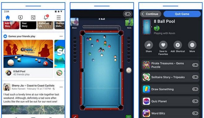 Τα Instant Games φεύγουν από το Facebook Messenger και ενσωματώνονται στο Facebook
