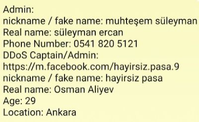 Anonymous Greece: Αυτοί είναι οι Τούρκοι που έριξαν τις σελίδες των ελληνικών υπουργείων