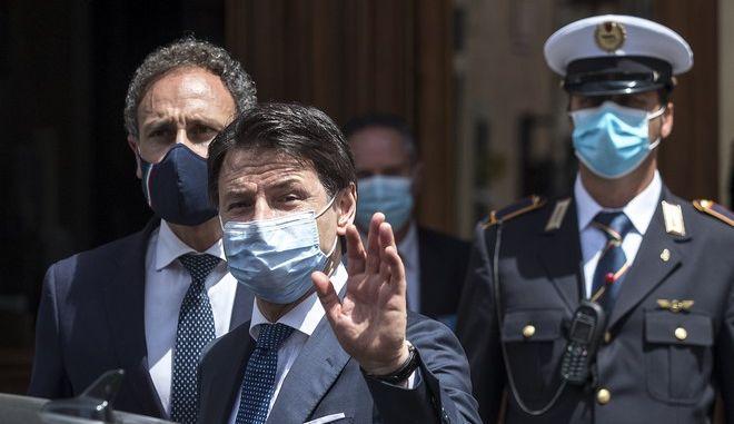Ο πρωθυπουργός της Ιταλίας, Τζουσέπε Κόντε