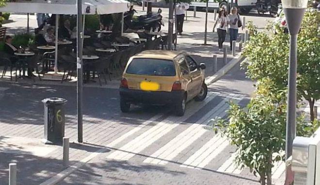 """Αγρίνιο: Τον """"έδωσαν"""" στο facebook για το παράνομο παρκάρισμα"""