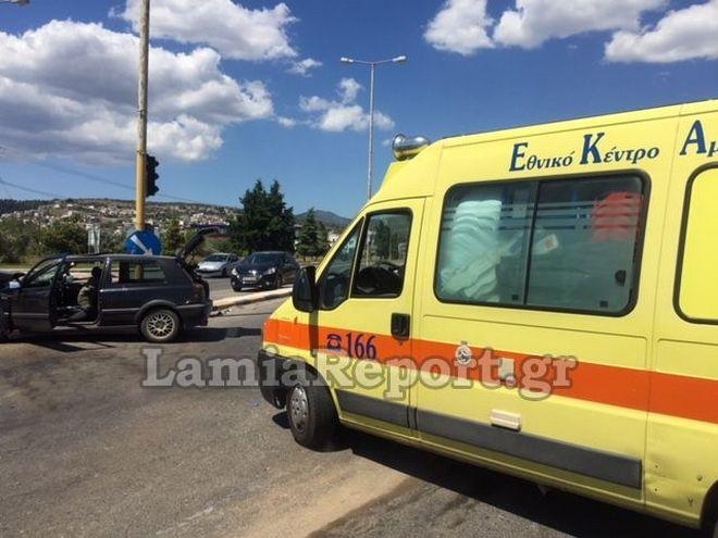 Σοβαρό τροχαίο στη Λαμία: Πέντε άτομα στο νοσοκομείο
