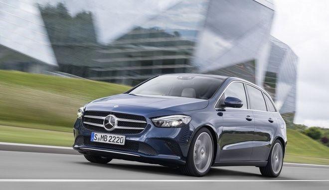 Η νέα Mercedes Benz B-Class