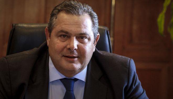 Ο υπουργός Άμυνας, Πάνος Καμμένος σε παλαιότερη συνεδρίαση της Κοινοβουλευτικής Ομάδας των Ανεξάρτητων Ελλήνων