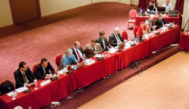 ΒΟΛΟΣ-Εργασίες της 81ης Συνόδου των Πρυτάνεων.(EUROKINISSI)