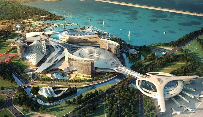 """Το θεματικό συγκρότημα αναψυχής """"Inspire"""" που θα λάβει σάρκα και οστά στοαεροδρόμιο Incheon της Νότιας Κορέας"""