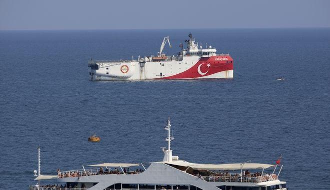 Το τουρκικό ερευνητικό σκάφος Oruc Reis