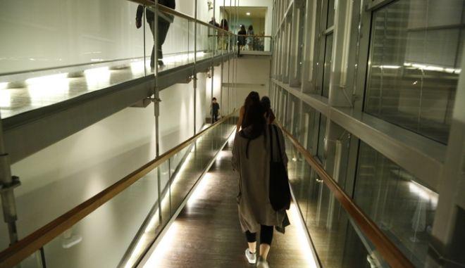 καρέ από το εσωτερικό του Μουσείου Μπενάκη