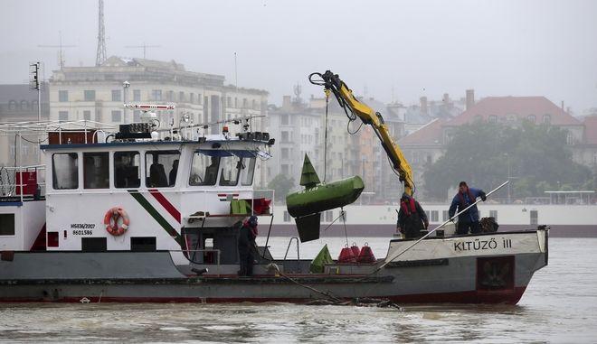 Ουγγαρία, Ναυάγιο στον Δούναβη