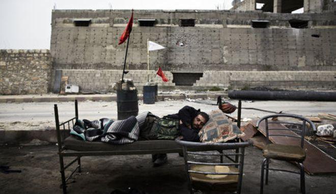 Σφοδρές συγκρούσεις στο Χαλέπι