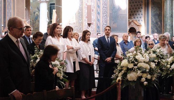 Χωρίς κάμερες και βουλευτές το μνημόσυνο του Κωνσταντίνου Μητσοτάκη