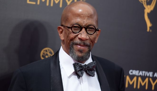Reg E. Cathey arrives at night one of the Creative Arts Emmy Awards at the Microsoft Theater on Saturday, Sept. 10, 2016, in Los Angeles. (Photo by Richard Shotwell/Invision/AP)