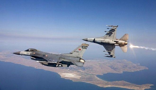 Αναχαίτιση οπλισμένων τουρκικών αεροσκαφών στο ΒΑ Αιγαίο