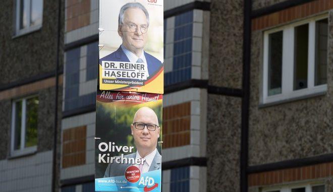 Οι υποψήφιοι του CDU και του ακροδεξιού AfD στο κρατίδιο της Σαξονίας-Άνχαλτ
