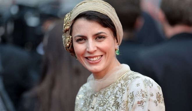 "CANNES, FRANCE - MAY 14: Leila Hatami attends the Opening ceremony and the ""Grace of Monaco"" Premiere during the 67th Annual Cannes Film Festival on May 14, 2014 in Cannes, France.  (Photo by Michael Buckner/Getty Images for Variety)"