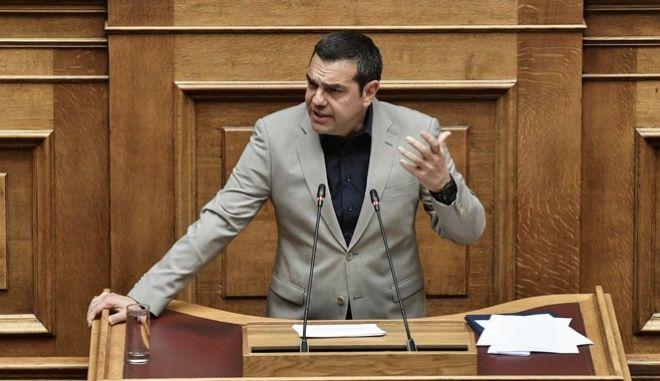 Παρέμβαση Αλέξη Τσίπρα στη συζήτηση του ν/σ για το επιτελικό κράτος