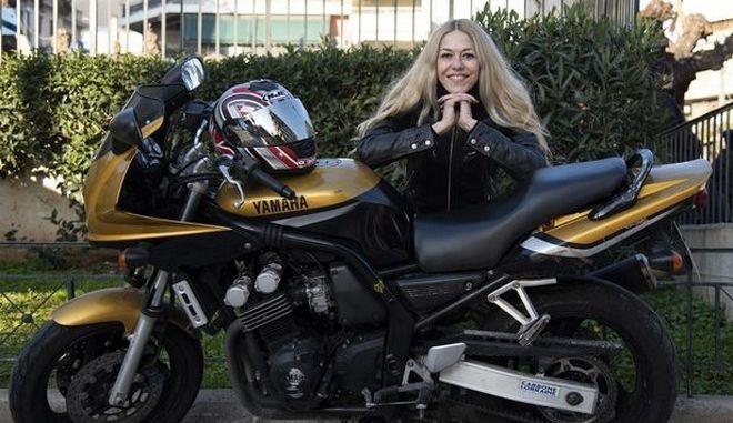 Τζέην Σαμπανίκου, 1η γυναικεία συμμετοχή στο Πανελλήνιο Πρωτάθλημα Ταχύτητας Μοτοσυκλετών: ''Ο χώρος του μηχανοκίνητου είναι από τους χειρότερους για τις γυναίκες''
