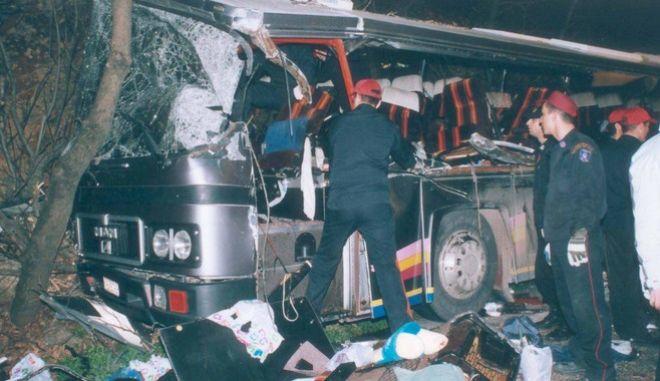 Τραγωδία με μαθητές στα Τέμπη 2003