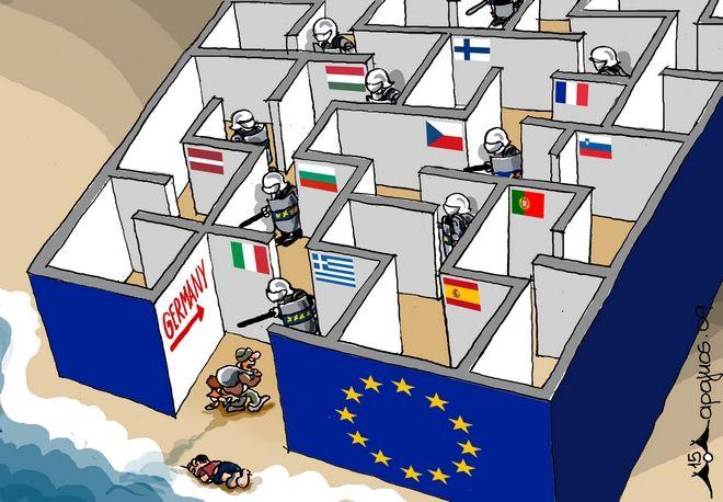 Π. Μαραγκός: 'Αν μπορούσα θα έκανα σκίτσο κατά του φασισμού στον τοίχο της Βουλής'