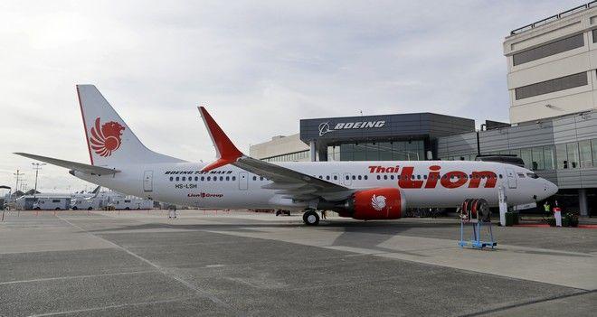 Η παράδοση Boeing 737 MAX στην Lion Air