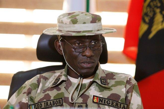 Major General Lucky Irabor, commander of