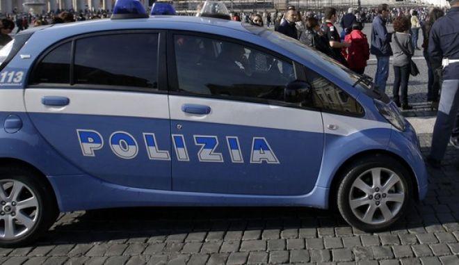 Περιπολικό της ιταλικής αστυνομίας