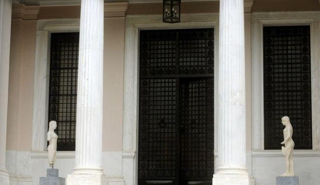 Συνάντηση του πρωθυπουργού ΑΛέξη Τσίπρα με τον πρόεδρο του Τεχνικού Επιμελητηρίου Ελλάδας (ΤΕΕ), Γιώργο Στασινό, τον πρόεδρο της Ολομέλειας των Δικηγορικών Συλλόγων, Βασίλη Αλεξανδρή και τον πρόεδρο του Πανελλήνιου Ιατρικού Συλλόγου, Μιχάλη Βλασταράκο για το ασφαλιστικό, την Δευτέρα 25 Ιανουαρίου 2016. Στη συνάντηση ήταν παρών και ο υπουργός Εργασίας, Κοινωνικής Ασφάλισης και Κοινωνικής Αλληλεγγύης, Γιώργος Κατρούγκαλος. (EUROKINISSI/ΤΑΤΙΑΝΑ ΜΠΟΛΑΡΗ)