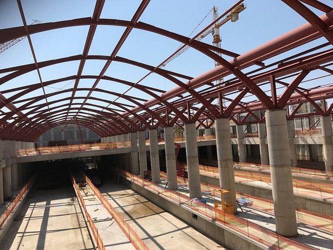 Θεσσαλονίκη: Έτοιμο στο 90% το αμαξοστάσιο του μετρό στην Πυλαία