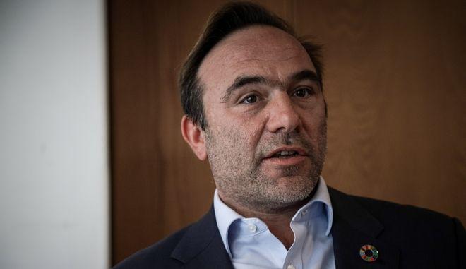 Ο υποψήφιος ευρωβουλευτής του ΣΥΡΙΖΑ Πέτρος Κόκκαλης