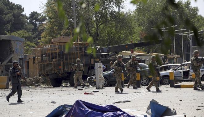 Νεκροί και τραυματίες από την επίθεση.