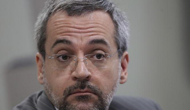 Ο Βραζιλιάνος υπουργός Παιδείας Άμπραχαμ Βάιντραουμπ