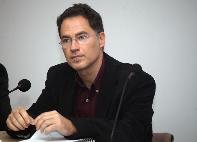 Ο Κωνσταντίνος Τσιτσελίκης, καθηγητής, κοσμήτορας της Σχολής Οικονομικών και Περιφερειακών Σπουδών στο Πανεπιστήμιο Μακεδονίας