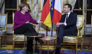 Μακρόν: Η φιλοδοξία μας για την Ευρώπη πρέπει να συνδυασθεί με εκείνη των Γερμανών