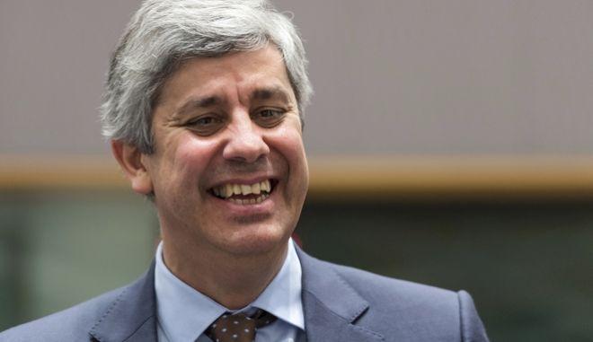Ο υπουργός Οικονομικών της Πορτογαλίας και πρόεδρος του Eurogroup, Μάριο Σεντένο