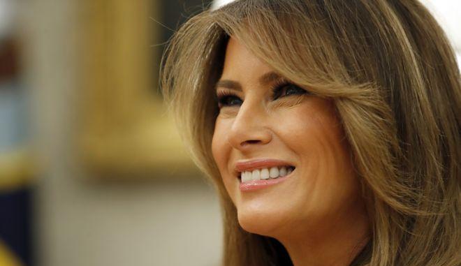 Η πρώτη κυρία των ΗΠΑ, Μελάνια Τραμπ