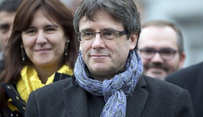 Ο τέως Καταλανός πρόεδρος, Κάρλες Πουτζντεμόν