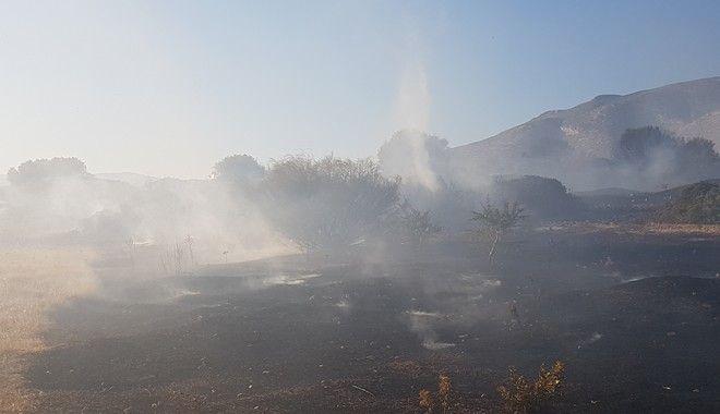 Μαίνεται η πυρκαγιά στα Καλύβια. Ολονύχτια μάχη με τις φλόγες
