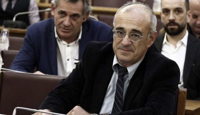 """Συνεδρίαση της Επιτροπής του Απολογισμού και του Γενικού Ισολογισμού του Κράτους και Ελέγχου της Εκτέλεσης του Προϋπολογισμού του Κράτους την Τρίτη 14 Νοεμβρίου 2017, με θέμα ημερήσιας διάταξης: Συζήτηση επί των σχεδίων νόμων του Υπουργείου Οικονομικών: α) """"Κύρωση του Απολογισμού του Κράτους, οικονομικού έτους 2015"""". β) """"Κύρωση του Ισολογισμού του Κράτους, οικονομικού έτους 2015"""". (EUROKINISSI/ΓΙΩΡΓΟΣ ΚΟΝΤΑΡΙΝΗΣ)"""