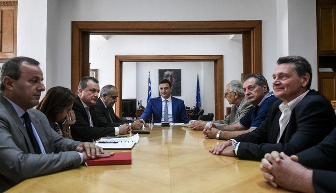 Συνάντηση του υπουργού Υγείας Βασίλη Κικίλια με το Διοικητικό Συμβούλιο του ΚΕΘΕΑ, την Παρασκευή 4 Οκτώβριου